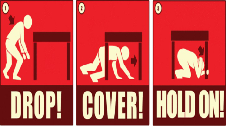 Locals to take part in The Great California ShakeOut
